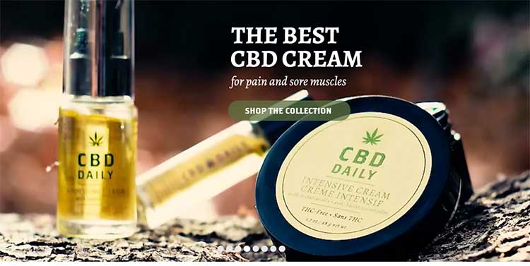 CBD Products to soothe sore muscles