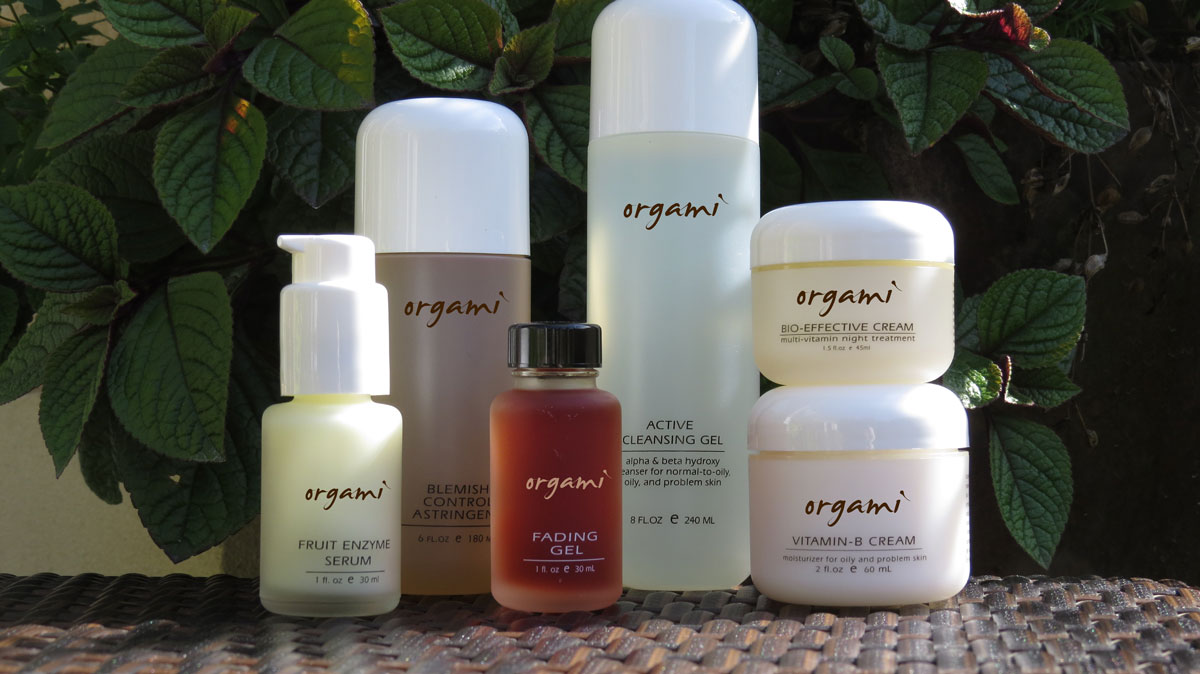 Orgami Skincare Samples